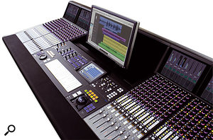 The MC Pro can be transformed into the System 5 MC by adding fader banks.