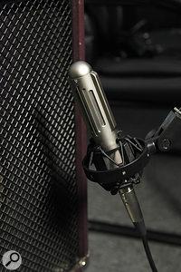Extinct Audio BM9 ribbon microphone.