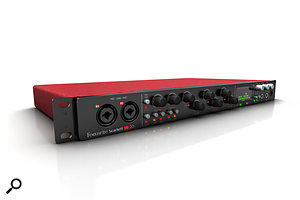 Focusrite's flagship USB 2.0 audio interface