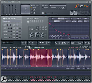 The new Slicex plug–in makes working with loops much easier.