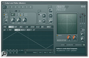 <em>Love Philter</em> provides no fewer than eight filters in a single plug-in.