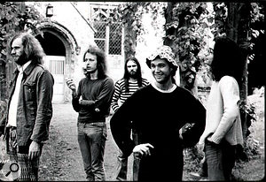 Faust IV was recorded at Virgin Records' Manor Studios in England, an experience the band found difficult.