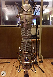 The mics lent themselves well to drum recording in a Mid‑Sides array.