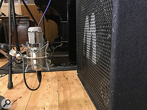 Neumann U47 FETs have long been popular on kick drums and bass cabs, in which roles the Flea mics acquitted themselves admirably.