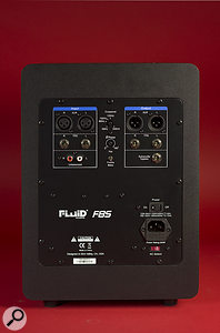 The variable phase and crossover frequency controls allow the F8S to integrate with almost any speaker setup.