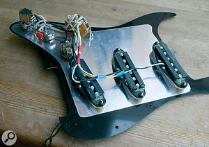 Although all the wiring may look daunting, modding your Strat or other single-coil guitar to give a wider range of tonal options is really quite simple.