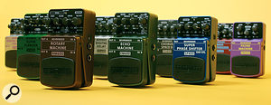 Behringer RSM Stomp-box Effects