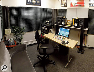 Even in these days where everyone can record at home, Richard Gottehrer stresses the importance of maintaining a professional studio at The Orchard.