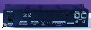 An optional A-D converter card is planned, as hinted at by the blanking panel on the rear of the Sculptor.