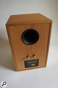 Unlike many BBC monitor designs, the LS6 is a  ported speaker.