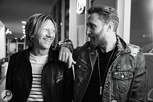 David Guetta and Fred Rister are close friends and worked together on many of Guetta's biggest hits.