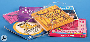There's a bewildering choice of guitar strings available these days — and a few things to consider before you slap on a new set.