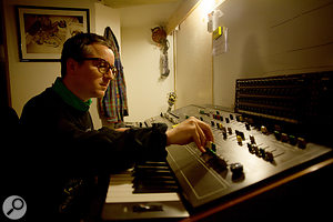 Alexis Taylor takes Joe Goddard's CS80 for a  spin...