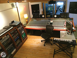 Since its relocation to Queen's Park, Mark Ralph's Club Ralph Studio has been based around an SSL mixer rather than the unique Conny Plank-designed console that took pride of place in its previous environment.