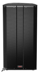 Tessen TNX-1581 full-range, three-way speaker.