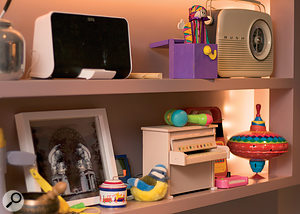 Toys in the playroom: many of Imogen Heap's sounds begin life as samples from toys and other household objects.