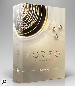 Heavyocity Forzo Modern Brass sample library pack.
