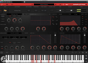 While ST4 remains easy to use, there is more to tweak if you want to customise your sounds.