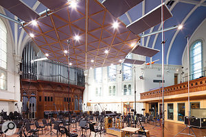 The orchestra was tracked in AIR Lyndhurst Hall, one of the world's premier venues for orchestral and soundtrack recording.