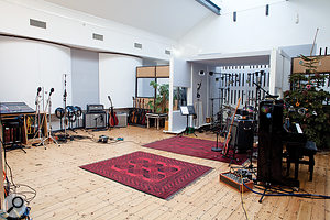 The tracking process for many of the songs on the album began with the band playing together in The Beehive's capacious live room.
