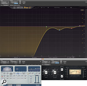 These three plug-ins make up Jason Elliott's 'breathywide' chain, used to add width and brightness to a  vocal.
