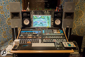 Unusually, Claudius Mittendorfer's Atomic Heart Studios is centred around a  setup that would be more typical of a  mastering studio, with Lipinski monitors and a  mastering console.