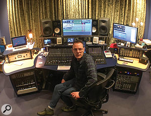 Joshua J Macrae is full-time engineer at Roger Taylor's studio in Surrey.