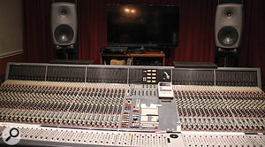 Allerton Studios is based around a Neve VR console.