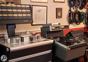 Allerton Hill Studio is home to one of the last Studer A827 machines ever made.