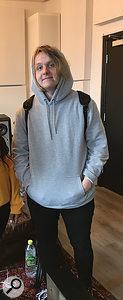 Lewis Capaldi at the TMS studio.