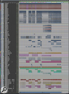 Another composite screen capture, this time showing Dan Grech-Marguerat's final mix session.