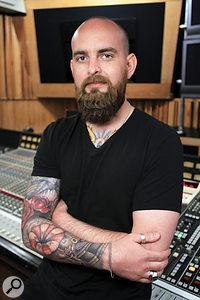 Benjamin Rice has worked with Lady Gaga since her 2012 album Artpop.
