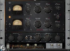 UAD Fairchild 670 plug-in.