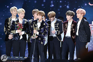 Bangtan Boys, also known as BTS, have become the most successful K‑pop band so far.