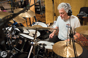 Steve Gadd is one of the world's leading session drummers and a  long–time member of James Taylor's backing band.