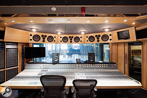 Both The Warehouse in Vancouver and Studio 1 at AIR Lyndhurst, shown, feature Neve 'Montserrat' desks. Only three were ever made, and they are, according to Tommaso Colliva, possibly the best–sounding consoles in the world.