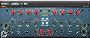 UAD-2 Chandler Curve Bender mastering EQ.