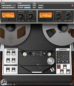 UAD-2 Ampex ATR102 tape simulator.