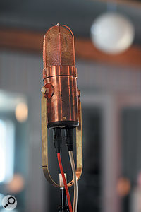 Bernard Löhr waxes lyrical about the studio's pair of custom-made Didrik de Geer microphones, which were used as drum overheads and on most vocals.