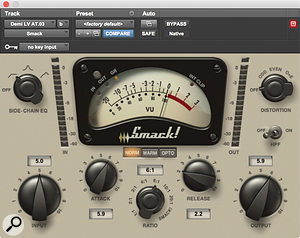 Demi Lovato's vocals were made to sound more gritty using Avid's Smack! compressor and the XLN RC-20 saturation plug-in.