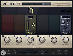 "The Intro Strings group employed the XLN Audio RC20 Retro Color plug-in to produce ""a very nice, natural-sounding array of analogue-type processing""."