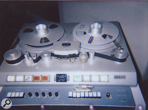 As well as using plug‑ins and conventional outboard, Brockampton also employed one of Abbey Road's legendary Studer J37 tape machines as an effect.