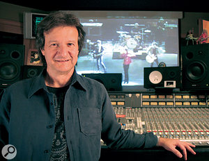 Bob Clearmountain at his Mix This! studio in LA.