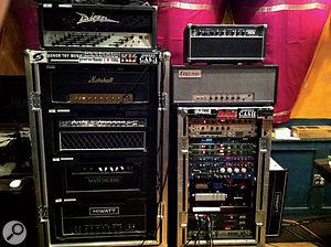 More guitar amps in John Shanks's studio!