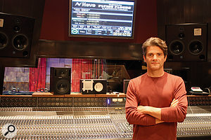 Jacquire King in Blackbird Studio D, where Only By The Night was recorded.