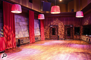 Blackbird Studio D, where Because Of The Night was recorded.