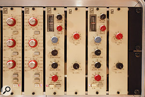 Jacquire King's Quad 8 EQs were used on the drums and the final stereo mixdown.