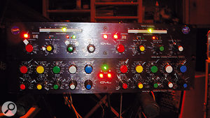 The GML stereo compressor and EQ were used on the master bus.