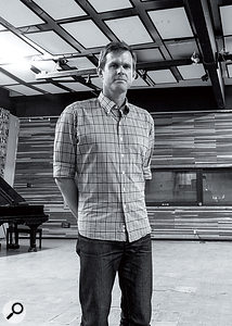 Kevin Augunas in his Fairfax Recording facility.