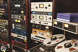 Although Tucker Martine mixed to analogue half-inch as well as to digital, it was the digital masters that sounded better and were used for the album.
